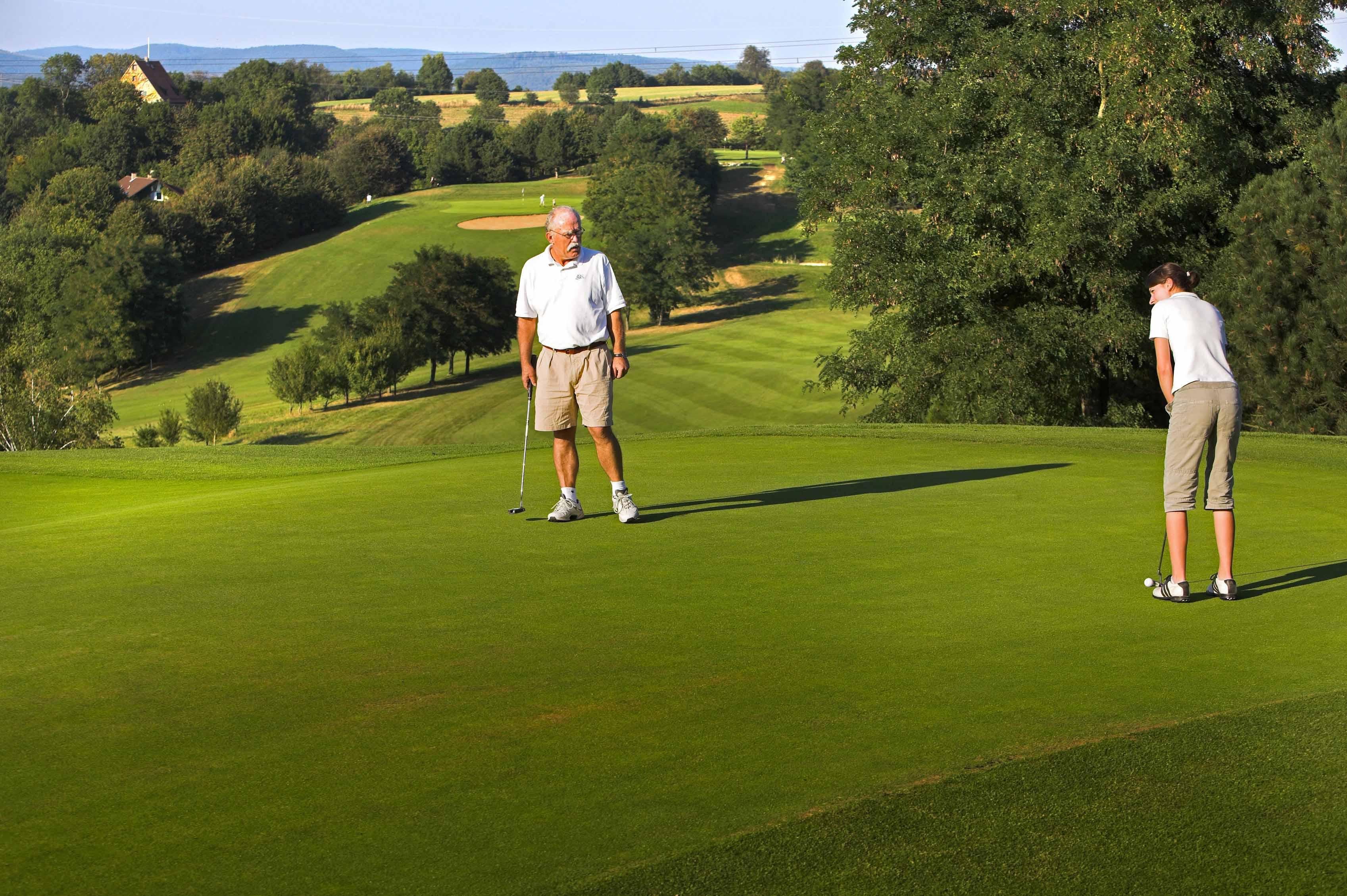 Golf und übernachten