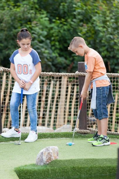 Adventure Golf: Schwung für die Feier